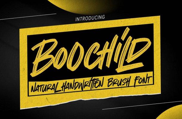 Boochild Font