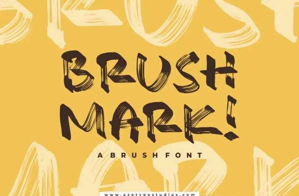 Brush Mark Font