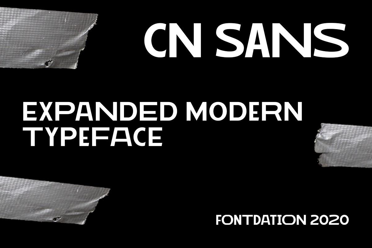 CN Sans Font