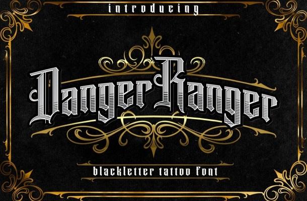 Danger Ranger Font
