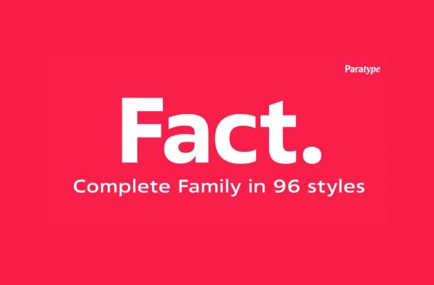 Fact Font