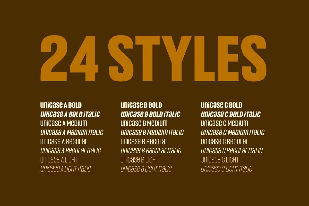 Headlines Unicase Font-2