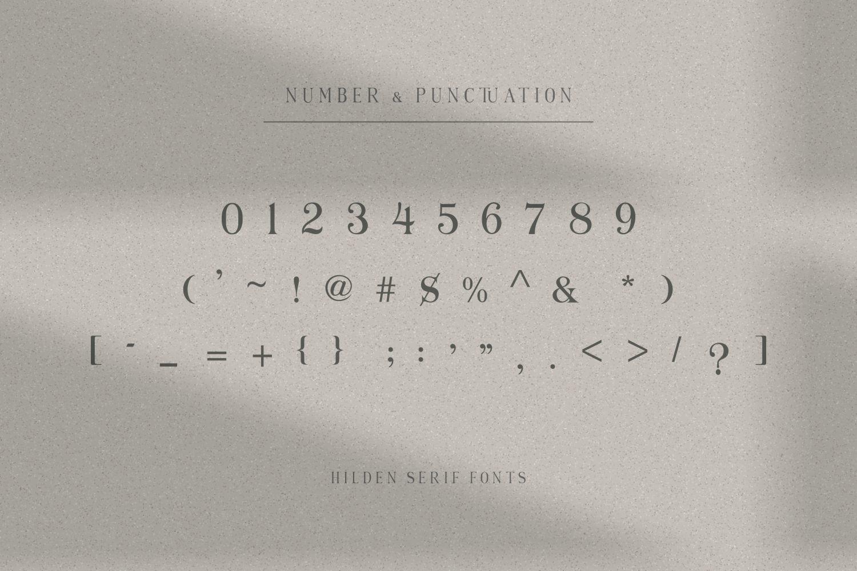 Hilden Font-4