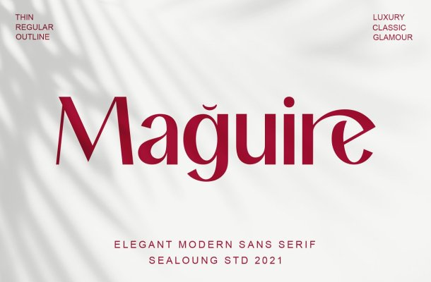 Maguire Font