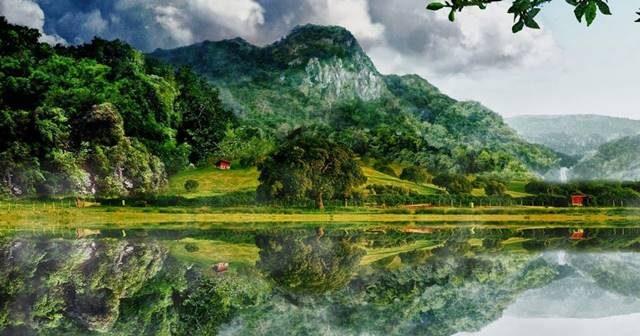 100 Gambar Pemandangan Alam yang Indah  Lukisan Foto