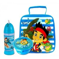 Jake and the Neverland Pirates Lunch Bag Set. includes ...