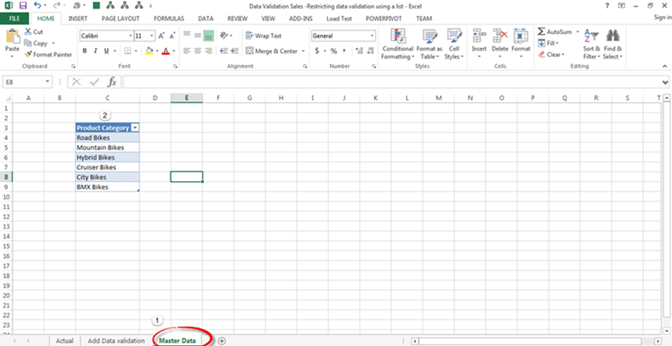excel how to allow data in data validation list