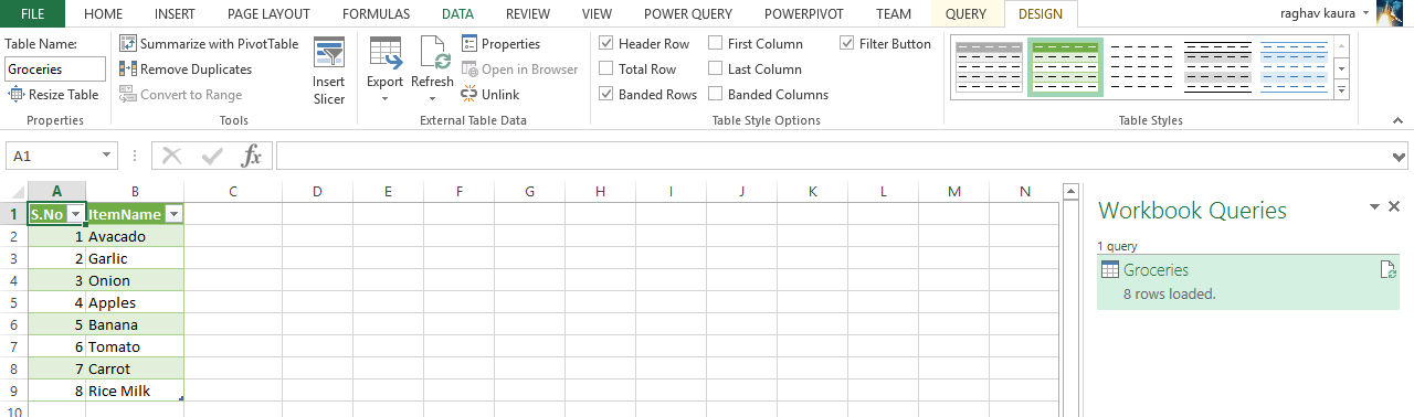 Load excel workbook data power query - Dagdoo org