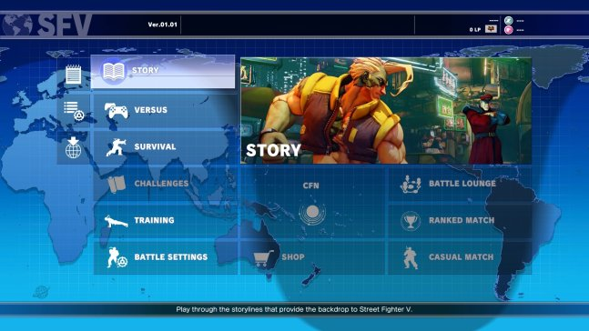 DAGeeks Review Street Fighter V Main Menu.jpg