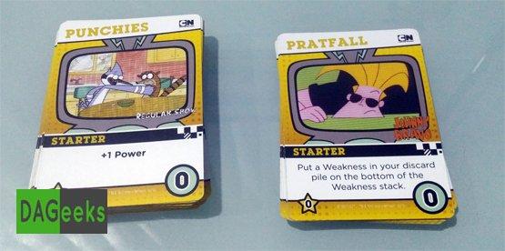 DAGeeks Reviews Cartoon Network Deck Building Game Punch Pratfall