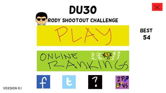 DU30 Rody Shootout Challenge Game