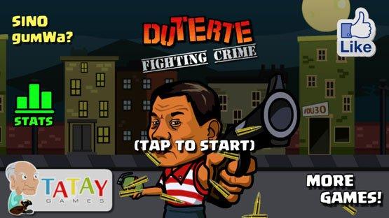 Duterte Fighting Game