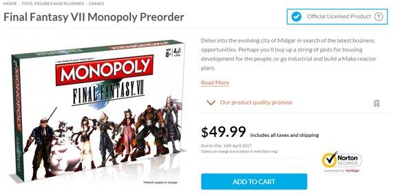 Final Fantasy VII Preorder Image DAGeeks