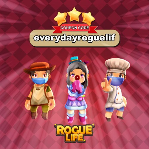Rogue Life Squad Goals third Coupon Code image