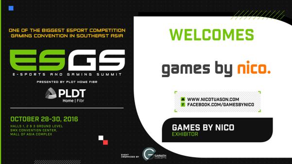 Games by Nico ESGS 2016 DAGeeks