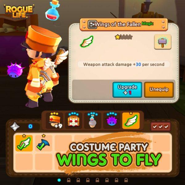 Rogue Life Squad Goals Season 2 Wings Image DAGeeks