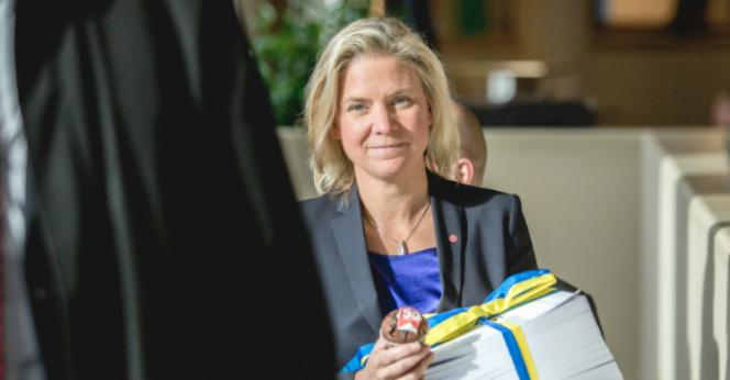 Magdalena Andersson Bild: Victor Svedberg