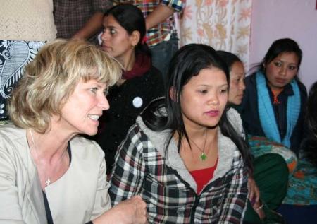 Dagmar Wöhrl Nepalreise. Dagmar Wöhrl - Februar 2011
