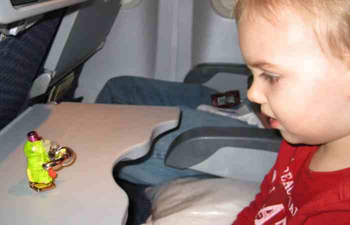 Traveling with a Toddler — Day 1: Airplane and Car Rides