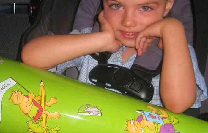 Wordless Wednesday — German Schultuete for Preschool
