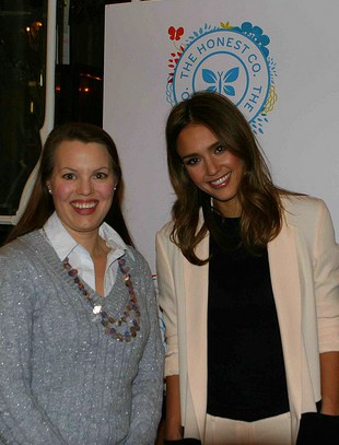 Meeting Jessica Alba at The Honest Company Launch