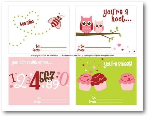 10 Cute and Easy Valentines Day Cards Crafts For Kids 2 – Cute Kids Valentines Cards
