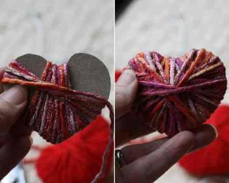 DagmarBleasdale.com: yarn heart
