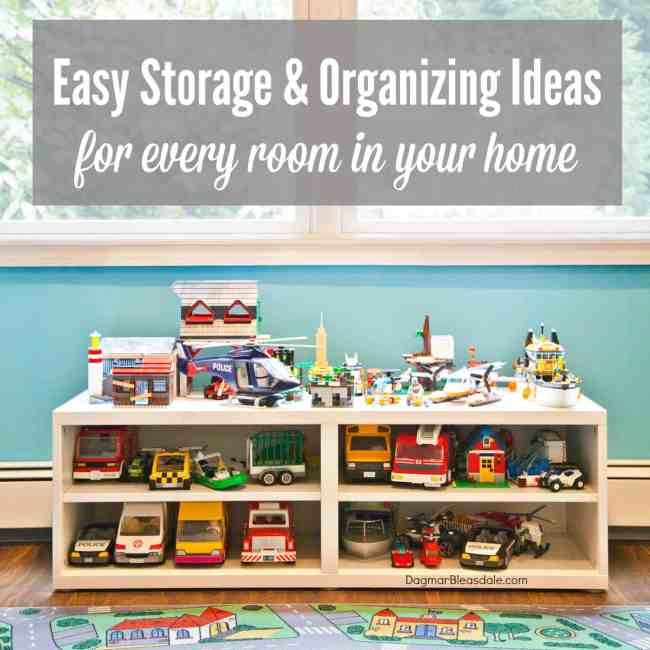organizing ideas for every room, Dagmar Bleasdale.com