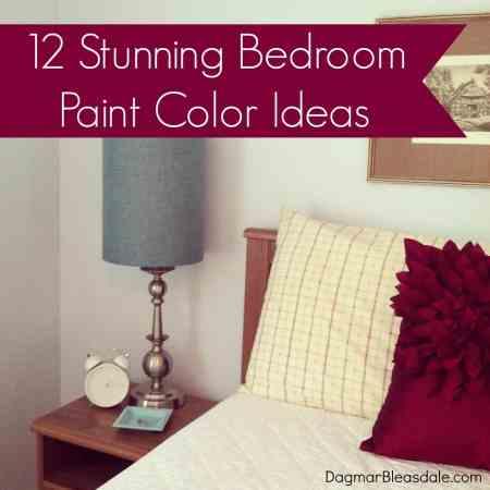 Dagmar's Home: 12 bedroom paint color ideas
