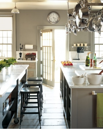My Dream Home: White-and-Gray Kitchen Countertop Ideas