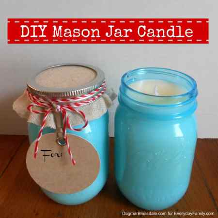 Dagmar's Home: DIY Mason Jar candle