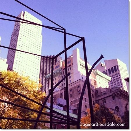 sculpture garden at MoMA, NYC