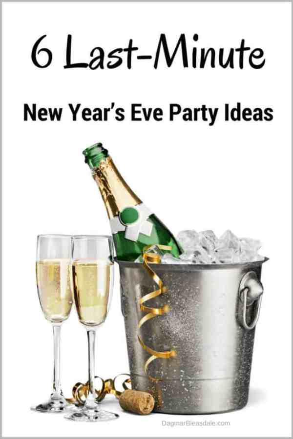 Last-Minute DIY New Year's Eve Party Ideas, DagmarBleasdale.com