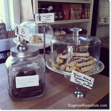 baked goods at Farmer and the Fish Farm Shop