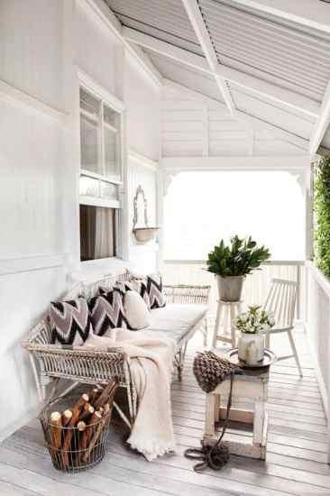 white porch ideas
