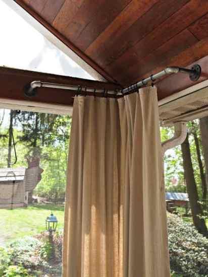 porch idea: curtains