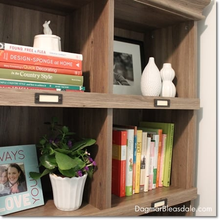 bookcase by Sauder, eco-friendly and affordable