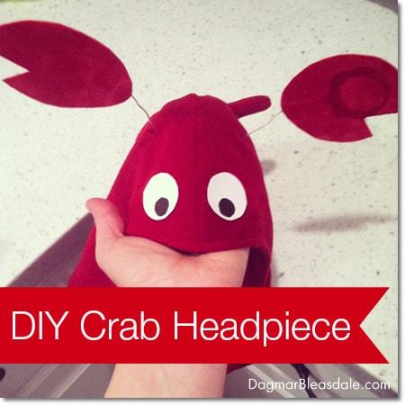 DIY Crab Headpiece