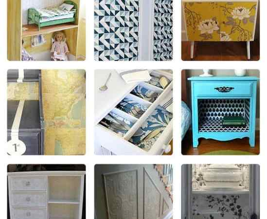 Hometalk Feature: 20 Unexpected Wallpaper Uses