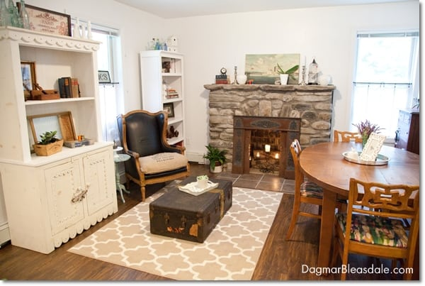 cottage decor living room