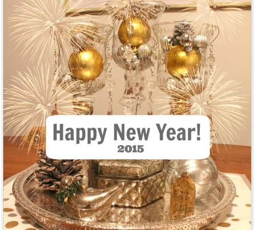 Happy New Year! And a New Year's Eve Tablescape