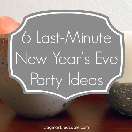new year's every party ideas