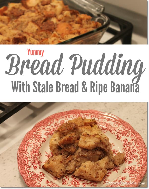 bread pudding with stale bread