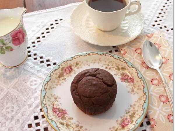 Super-Easy, Eggless Peanut Butter Honey Muffins
