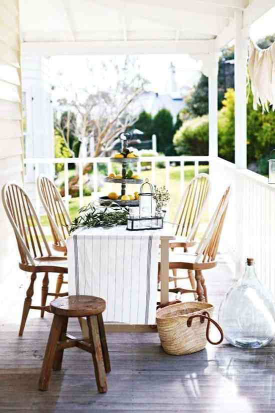 Porch Decorating Ideas. DagmarBleasdale.com