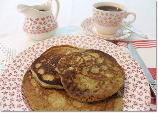 Plant-Powered Orgain Organic Protein Powder Pancakes