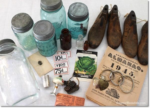 vintage shoe molds, DagmarBleasdale.com