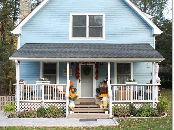 Blue Cottage Fall Home Tour 2015 – Come on In!