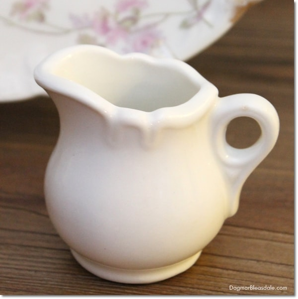 vintage tiny pitcher