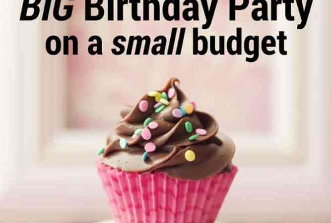 How To Throw A 50th Birthday Party on a Small Budget